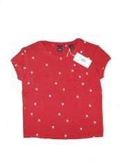 Scotch & Soda t-shirt rood Yin Yang