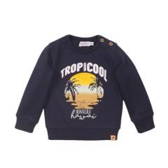 Dirkje sweater navy Tropical