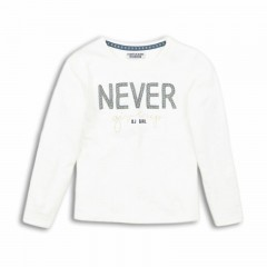 Dutchjeans longsleeve off white Never give up